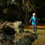 Key to healthy aging: walking