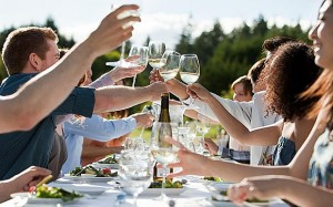 Glass of wine with dinner helps you live longer