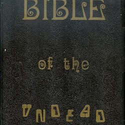 The Bible of the Undead