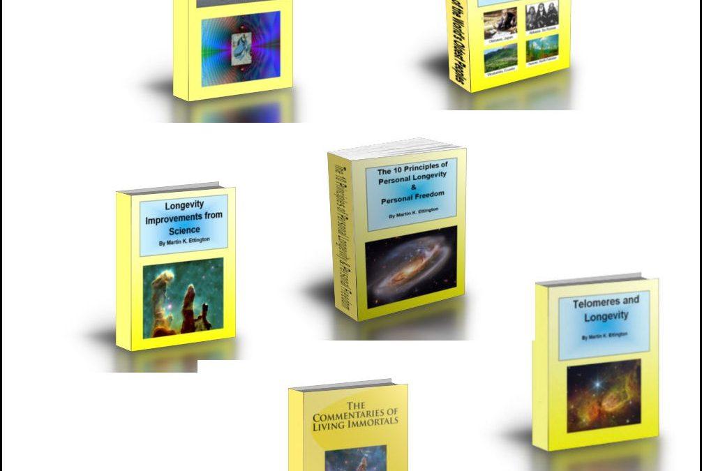 The New Longevity Special Books Bundle